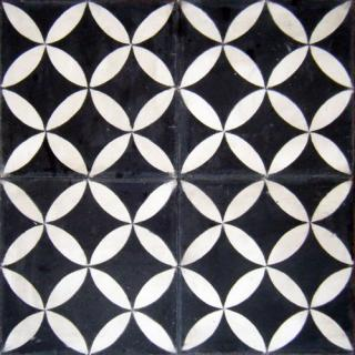 Carreau de ciment marguerite fer et pierre for Poncer carreaux ciment