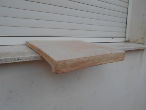 nez de marche en terre cuite de r dition 30 30cm fer et. Black Bedroom Furniture Sets. Home Design Ideas