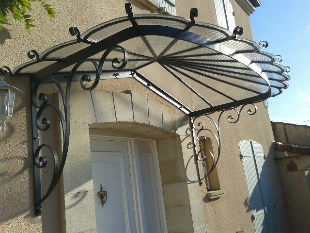 marquise fer et pierre ferronnerie d 39 art carreaux de. Black Bedroom Furniture Sets. Home Design Ideas